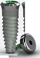Tapered Tissue Level Dental Implant