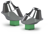 Multi-unit abutments